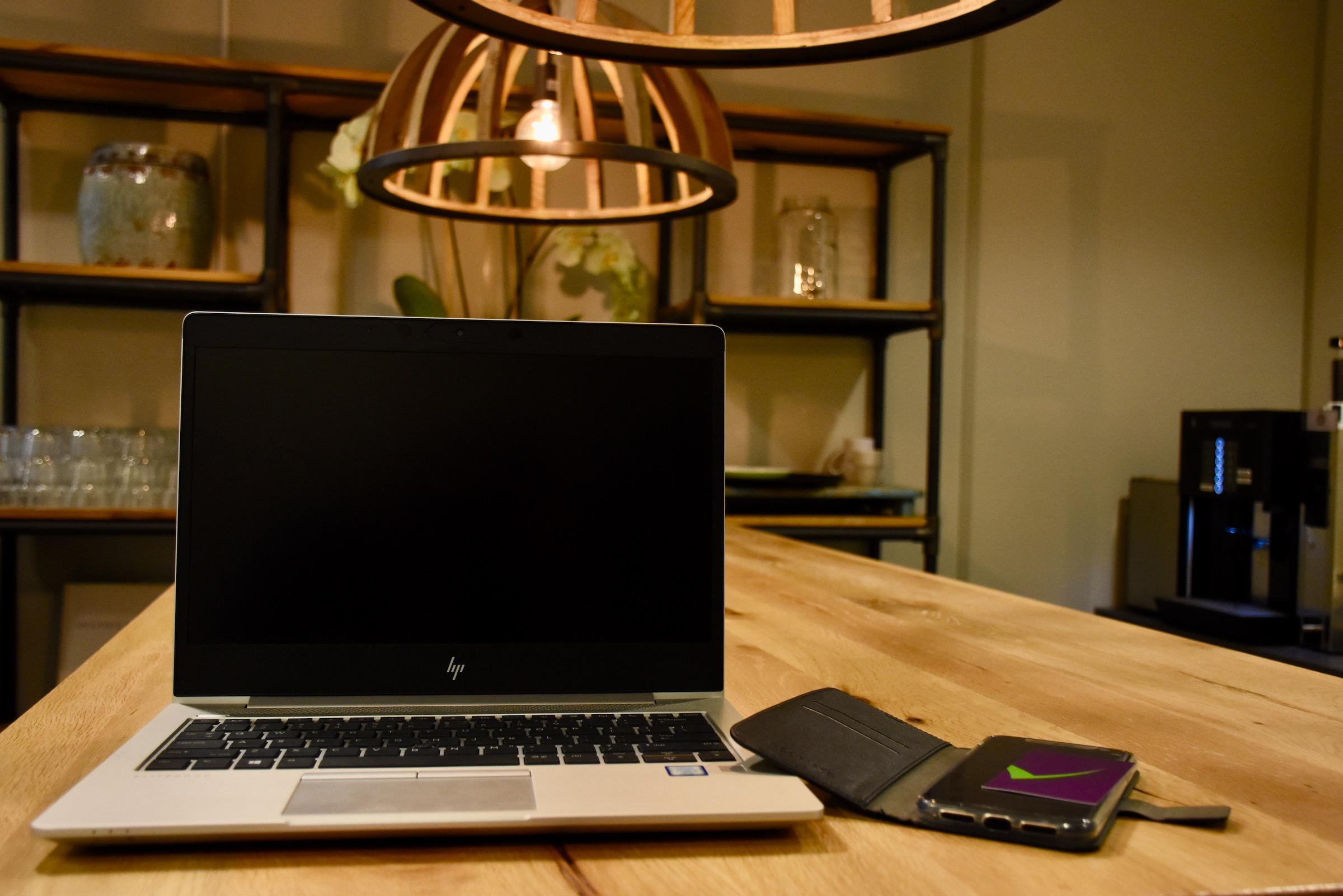 Planbord op laptop